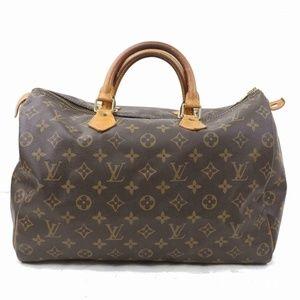 Auth Louis Vuitton Speedy 35 Crossbody #2177L13